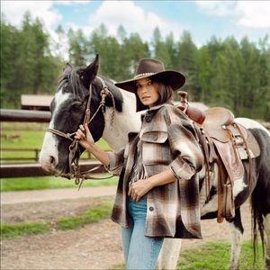 LAST ONE - NWT H&M Herringbone Weaved Shirt Jacket